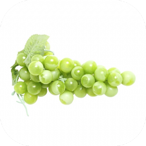 Artificial Bunch Of Grapes Green 20 cm